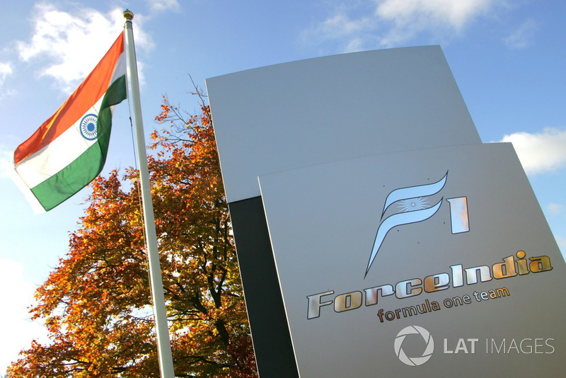 Force India factory in 2007