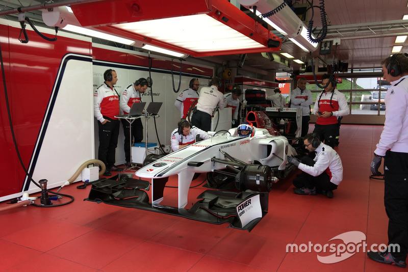 Sauber-teszt - Fiorano - F1