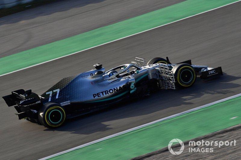 Mercedes-AMG F1 W10 EQ Power+ aerodinamikai szenzorral