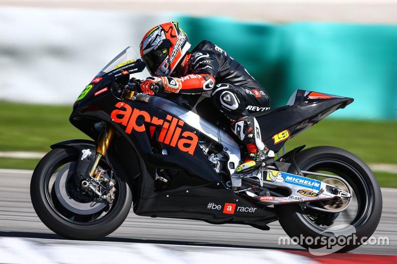 Альваро Баутіста, Aprilia Racing Team Gresini