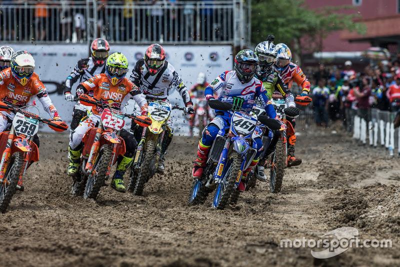 Start Race 1 MXGP Indonesia 2017