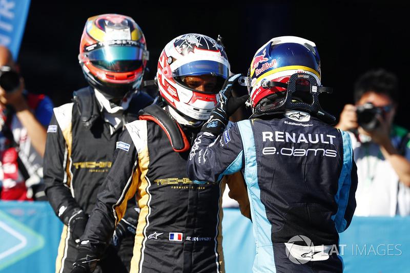 Sébastien Buemi, Renault e.Dams, Stéphane Sarrazin, Techeetah