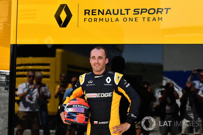 Роберт Кубіца, Renault Sport F1 Team