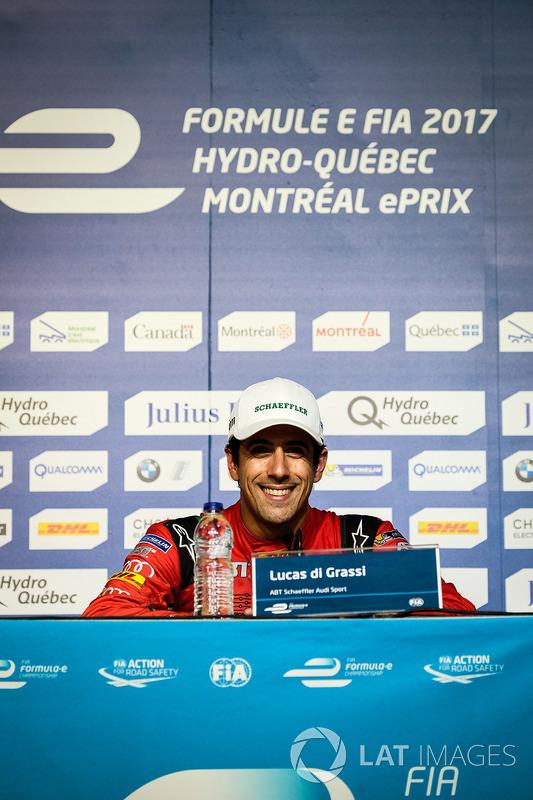 Conferencia de prensa: ganador de la carrera Lucas di Grassi, ABT Schaeffler Audi Sport