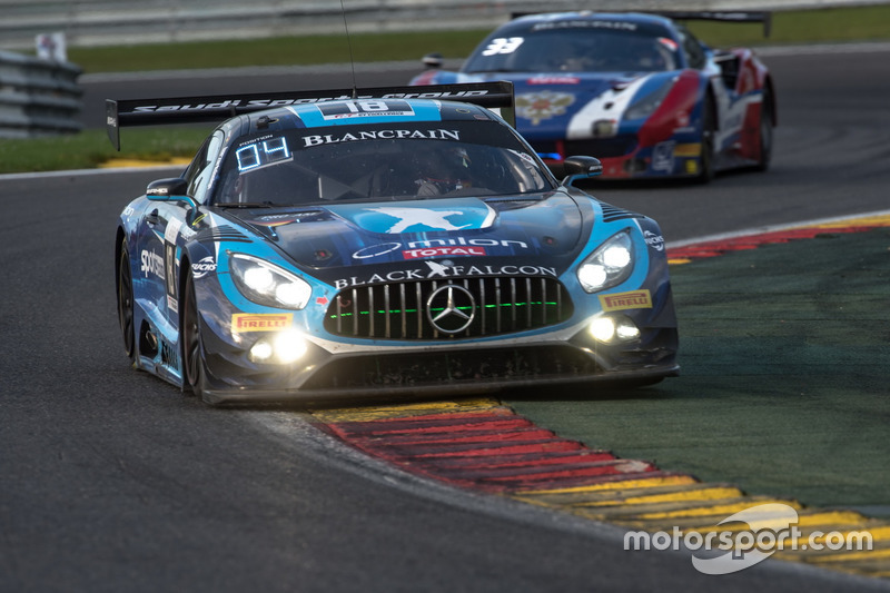 #18 Black Falcon Mercedes-AMG GT3: Габріеле П'яна, Абдулазіз аль-Фейсал, Юбер Хаупт, Ренгер ван дер Занде