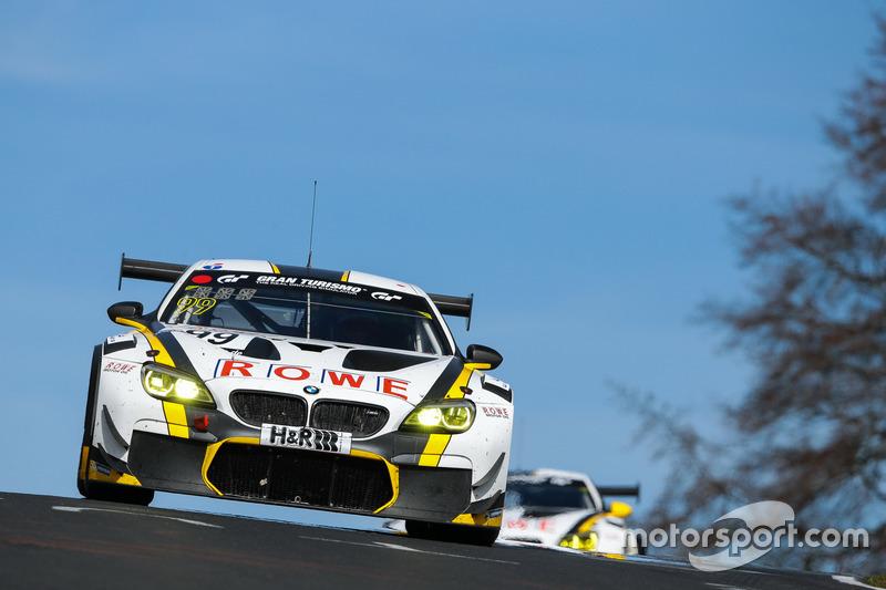Maxime Martin, Marc Basseng, Alexander Sims, ROWE Racing, BMW M6 GT3