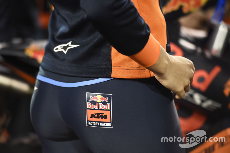 Chica de Red Bull KTM Factory Racing