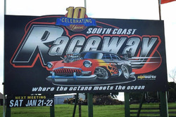 South Coast Raceway sign