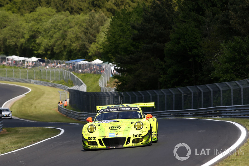 16. #911 Manthey Racing, Porsche 911 GT3 R