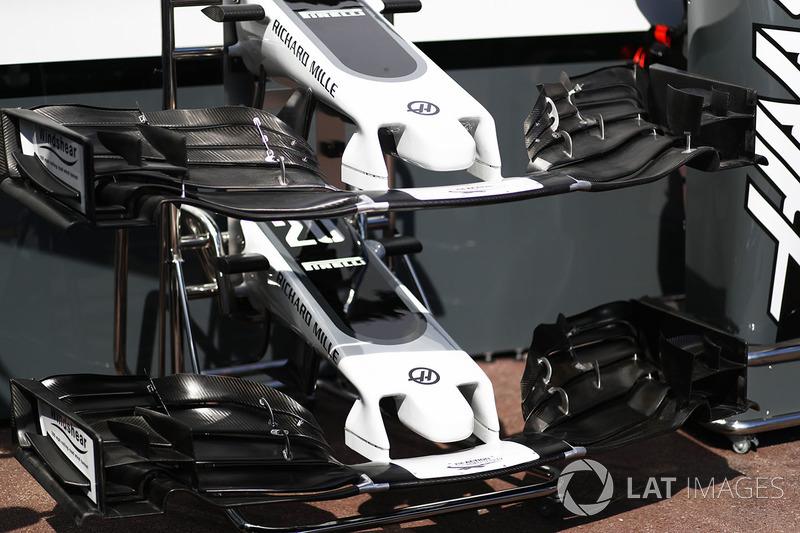 Передние крылья Haas F1 Team VF-17