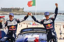 Winners Sébastien Ogier, Julien Ingrassia, Ford Fiesta WRC, M-Sport