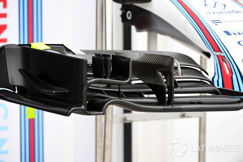 Переднє антикрило Williams FW40