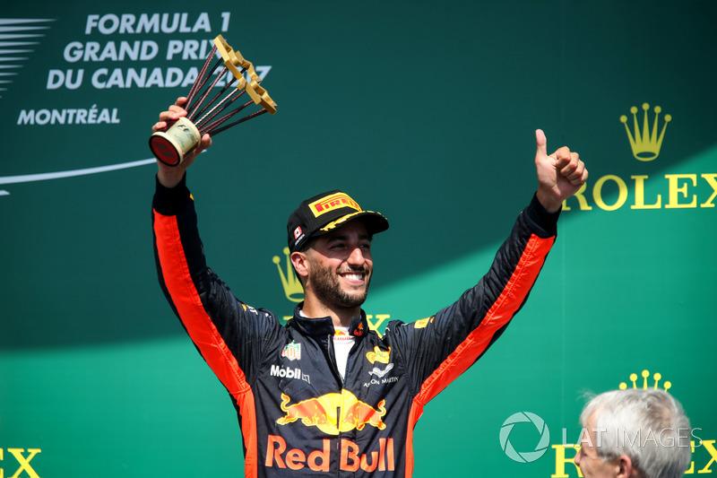 Gewinner: Daniel Ricciardo (Red Bull Racing)