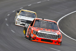 Cody Coughlin, ThorSport Racing Toyota and Kaz Grala, GMS Racing Chevrolet
