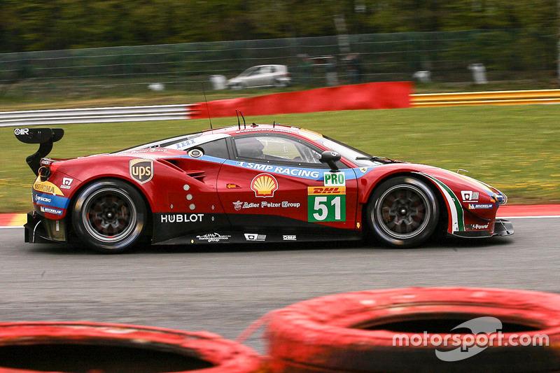 2. GTE-Pro: #51 AF Corse, Ferrari 488 GTE