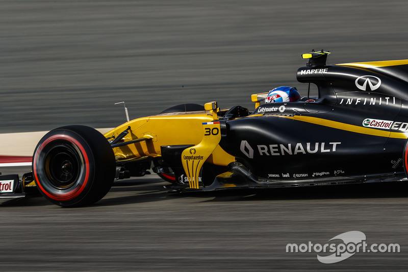 14 місце — Джоліон Палмер, Renault. Умовний бал — 7,959