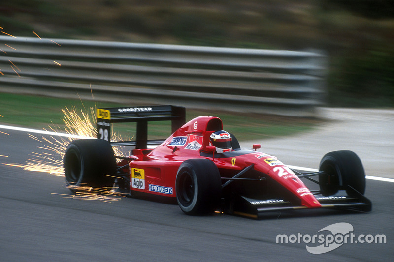 F1, Estoril 1991: Jean Alesi, Ferrari 643