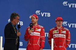 Eddie Jordan, Channel 4 F1 TV talks, Sebastian Vettel, Ferrari y Kimi Raikkonen, Ferrari