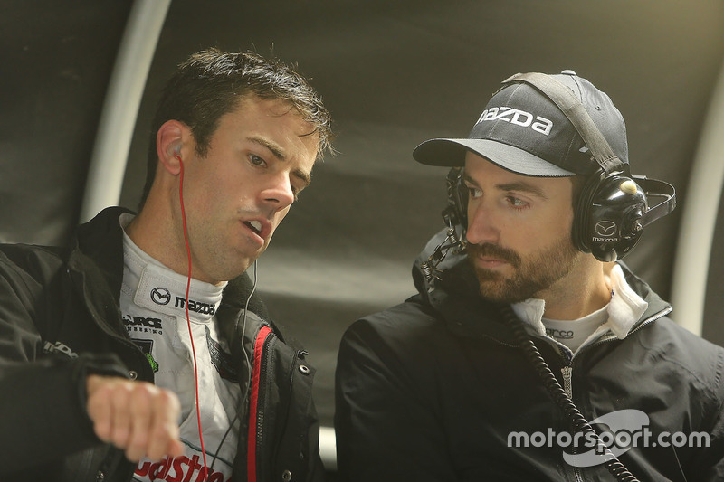 Joel Miller, James Hinchcliffe, Mazda Motorsports