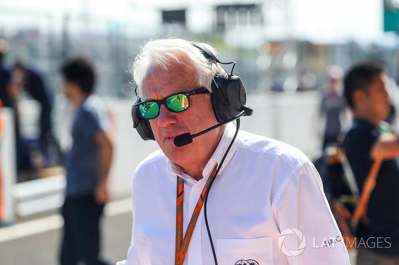 Charlie Whiting, FIA Delegesi