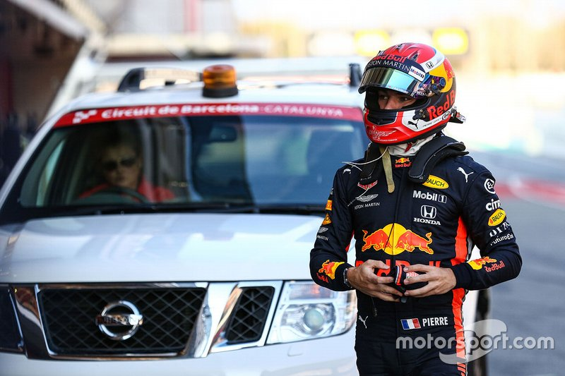 Max Verstappen, Red Bull Racing torna ai box