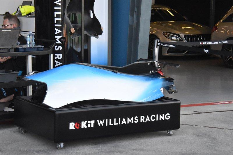 Williams FW42: nova asa T-wing