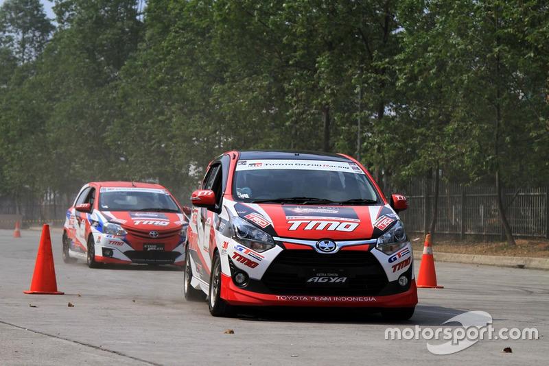 Tim Slalom Toyota Team Indonesia