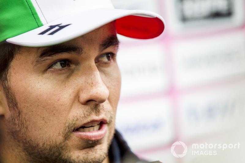 Sergio Pérez, Racing Point Force India F1 Team