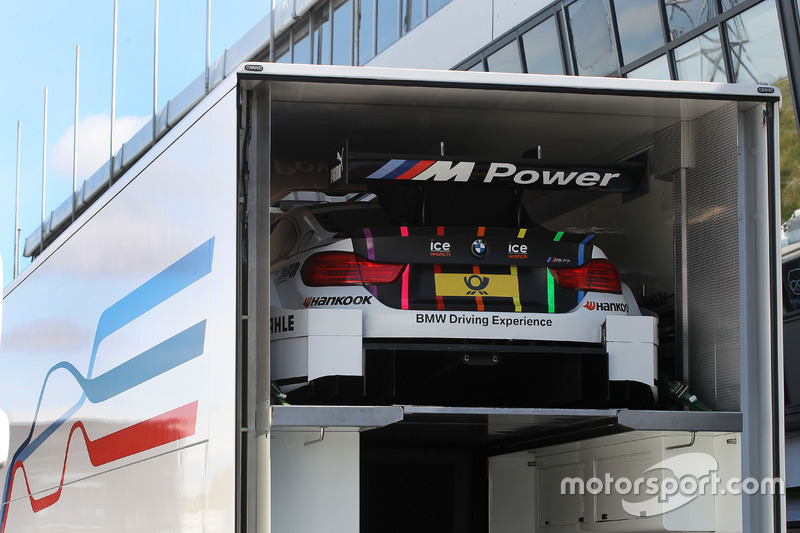 The car of Tom Blomqvist, BMW Team RBM, BMW M4 DTM