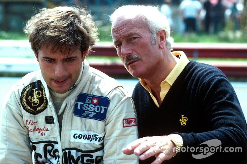 Элио де Анжелис и Колин Чепмен, Team Lotus