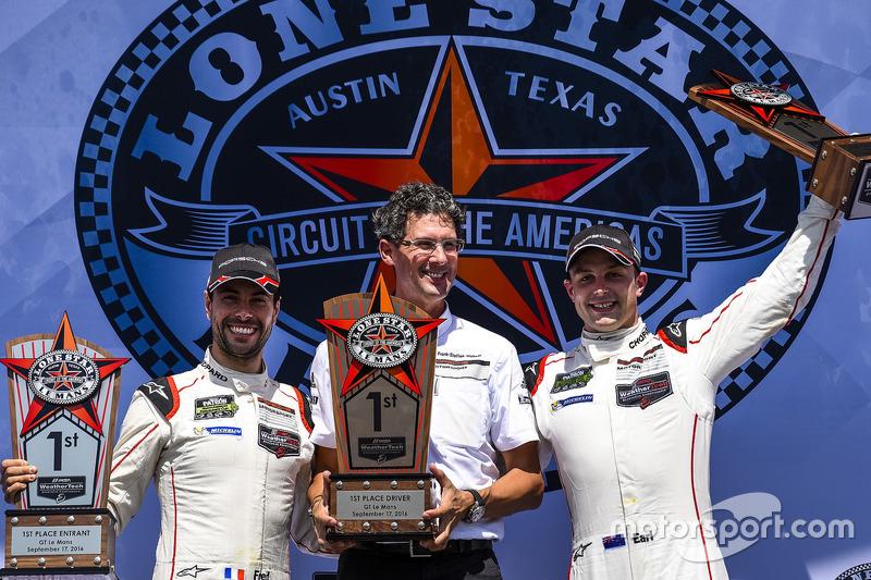 Sieger GTLM: #912 Porsche Team North America, Porsche 911 RSR: Earl Bamber, Frédéric Makowiecki