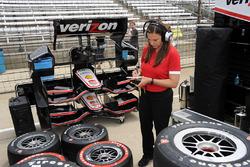 Cara Adams, Bridgestone Senior Project Engineer, Race Tire Development