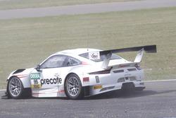 Crash: #99 Precote Herberth Motorsport Porsche 911 GT3 R: Robert Renauer, Martin Ragginger