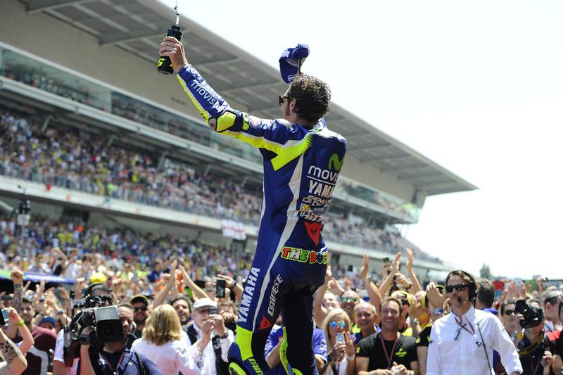 El ganador, Valentino Rossi, Yamaha Factory Racing