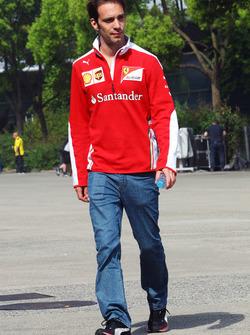 Jean-Eric Vergne, Ferrari Test and Development Driver