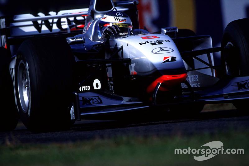 Mika Hakkinen, McLaren lider
