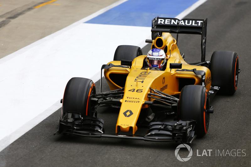 2016: начало сотрудничества с Renault F1