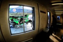 The car of Yazeed Al Rajh, Michael Orr, Yazeed Racing Ford Fiesta RS WRC