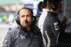 Matt Morris, Mühendislik Direktörü, McLaren