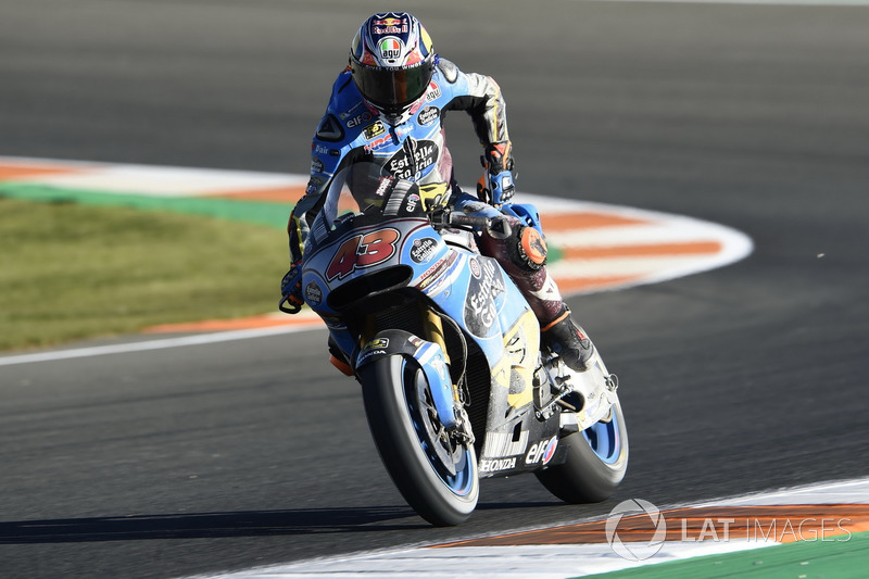 Jack Miller, Estrella Galicia 0,0 Marc VDS, after crash