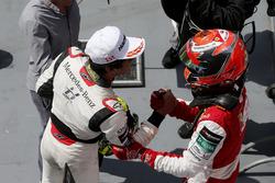 Enaam Ahmed, Hitech Bullfrog GP Dallara F317 - Mercedes-Benz, Marcus Armstrong, PREMA Theodore Racin