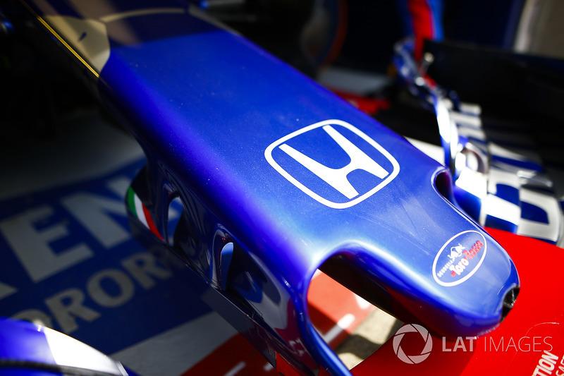 Le nez de la Toro Rosso STR13