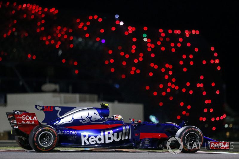 Гран При Абу-Даби: Toro Rosso проиграла шестое место в Кубке конструкторов в последней гонке. Гасли это ужасно расстроило