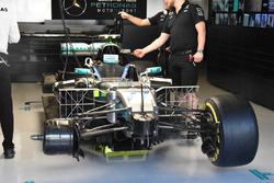 Mercedes AMG F1 W08 Валттері Боттаса