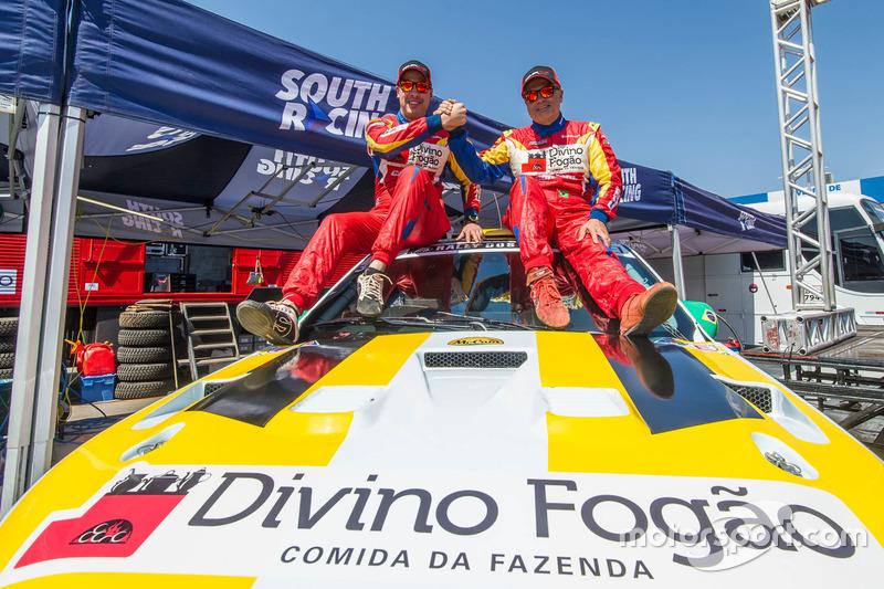 Nas UTVs, mesmo sem os atuais campeões, a categoria será a única com dois conjuntos. No Can-Am #356, Reinaldo Varela vai pilotar e Gustavo Gugelmin ficará responsável pela navegação.