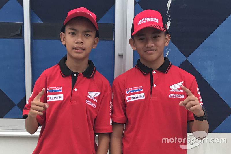 M Adenanta Putra dan Mario Suryo Aji, Astra Honda Racing Team