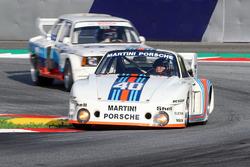 Gerhard Berger, Porsche 935 and Harald Grohs, BMW 320