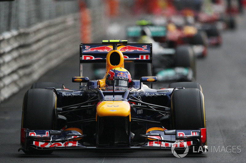 2012: Mark Webber, Red Bull-Renault RB8