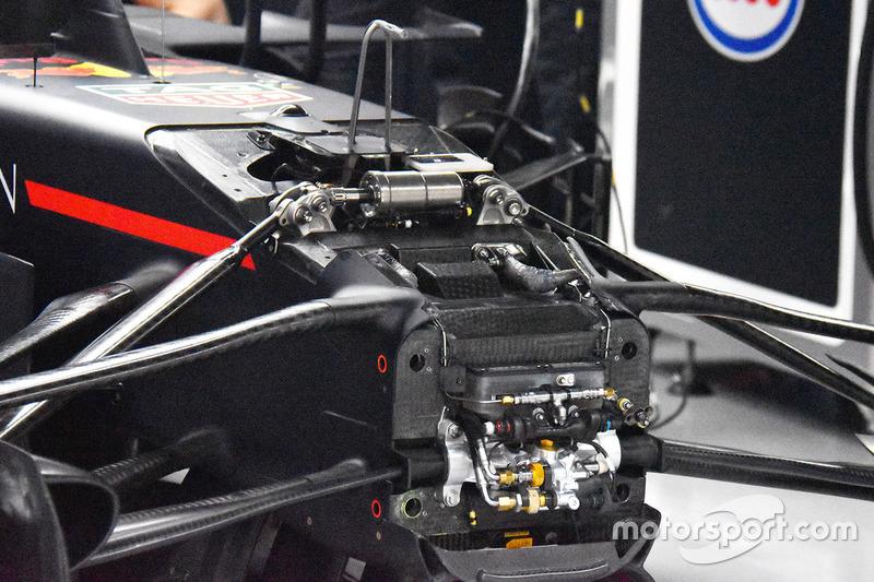 Передня частина Red Bull Racing RB14