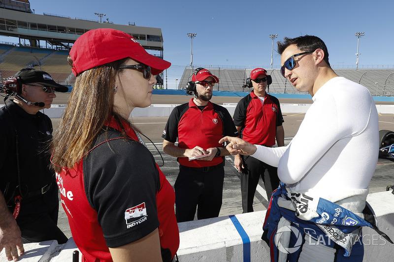 Graham Rahal, Rahal Letterman Lanigan Racing Honda with Firestone engineers